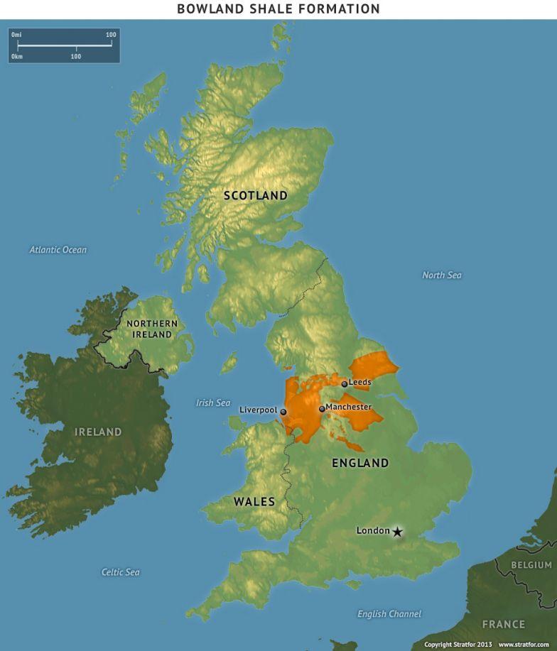 The U.K. Becomes a Shale Gas Player
