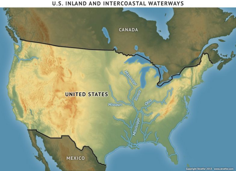 U.S. Inland and Intercoastal Waterways