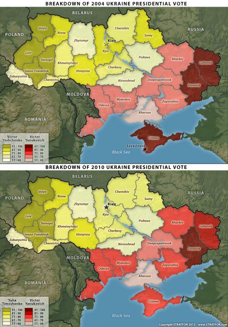 Ukraine's Political Divide