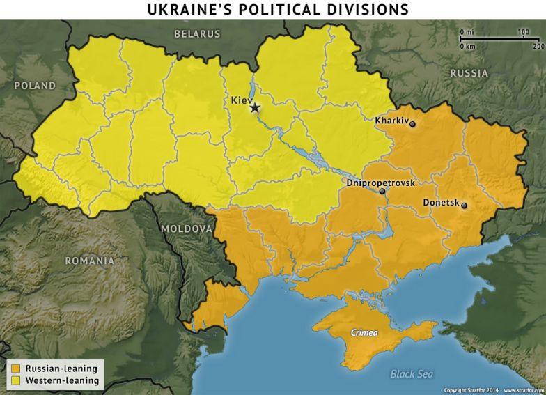 Ukraine's Political Divisions