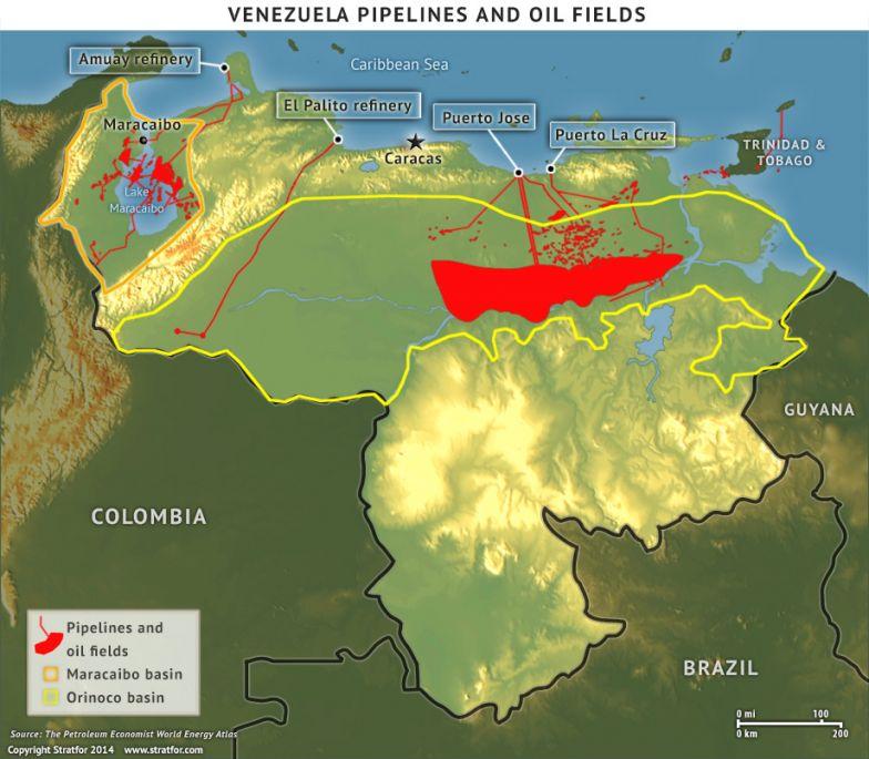 Venezuela's Oil Infrastructure