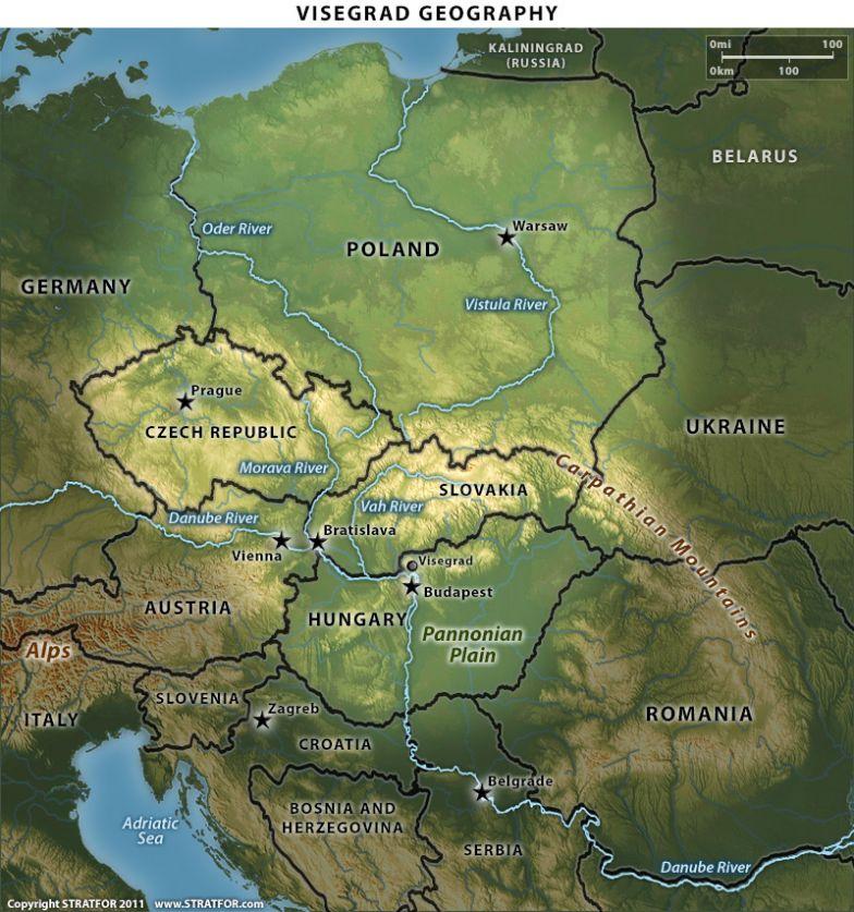 Visegrad Geopgraphy