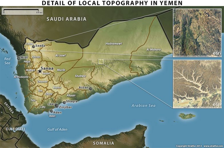 Yemen: Protection from Eastern Valleys and Northern Mountains