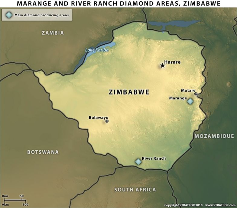Zimbabwe: The Political Consequences of Lifting Diamond Sanctions