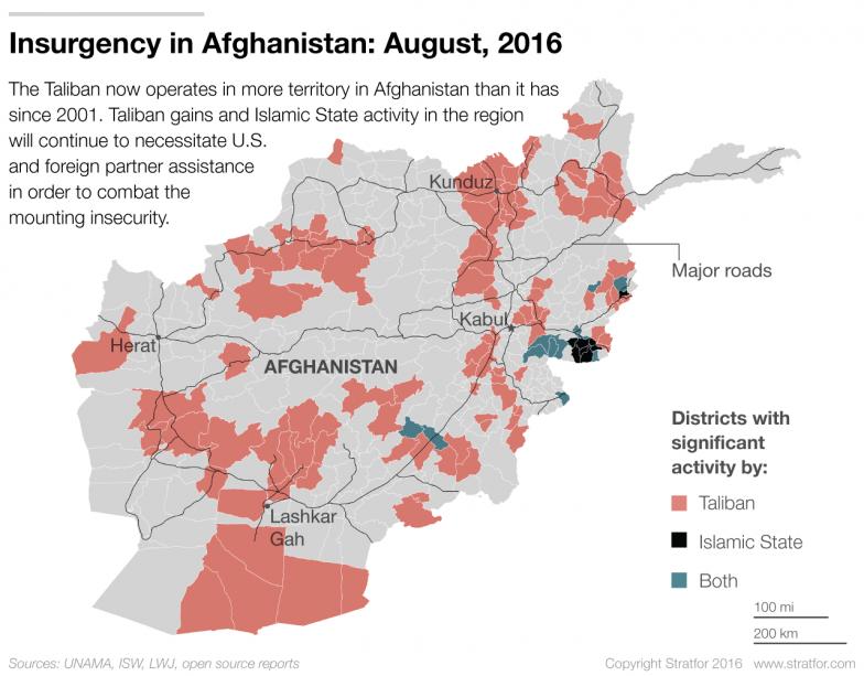 In Afghanistan, the Taliban Advance