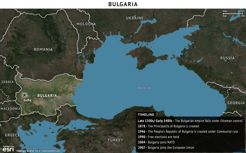 Bulgaria Map and Timeline