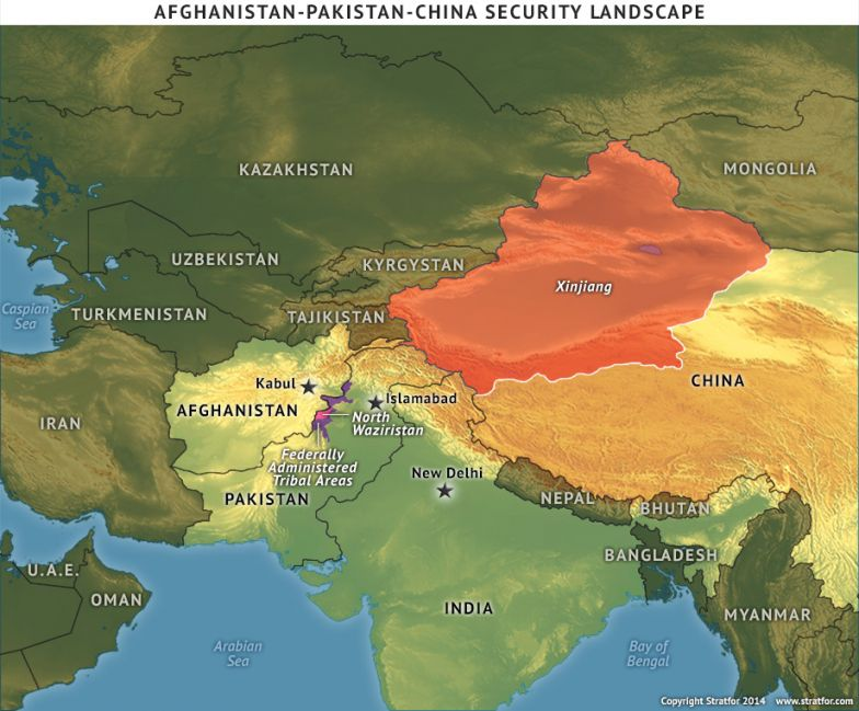 Afghanistan-Pakistan-China Security Landscape