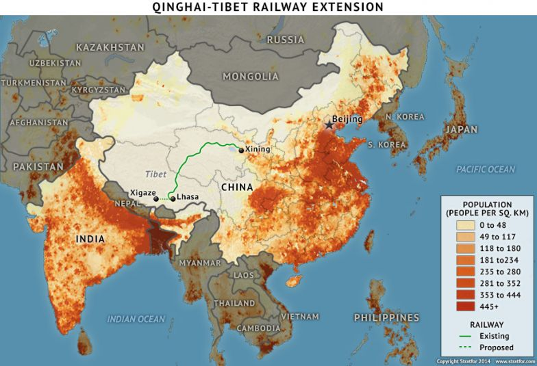 Qinghai-Tibet Railway Extension