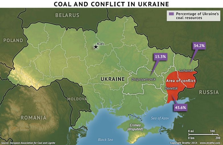 Coal and Conflict in Ukraine