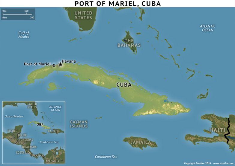 Port of Mariel, Cuba