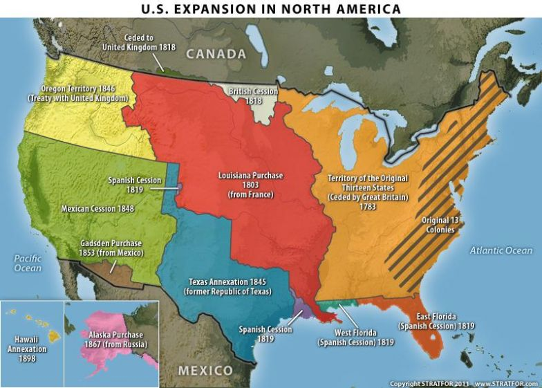 The United States\' Territorial Expansion