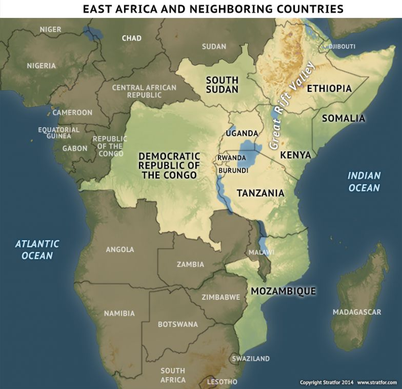 East Africa and Neighboring Countries