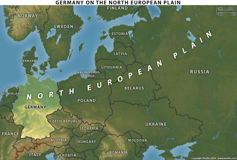 Germany on the North European Plain