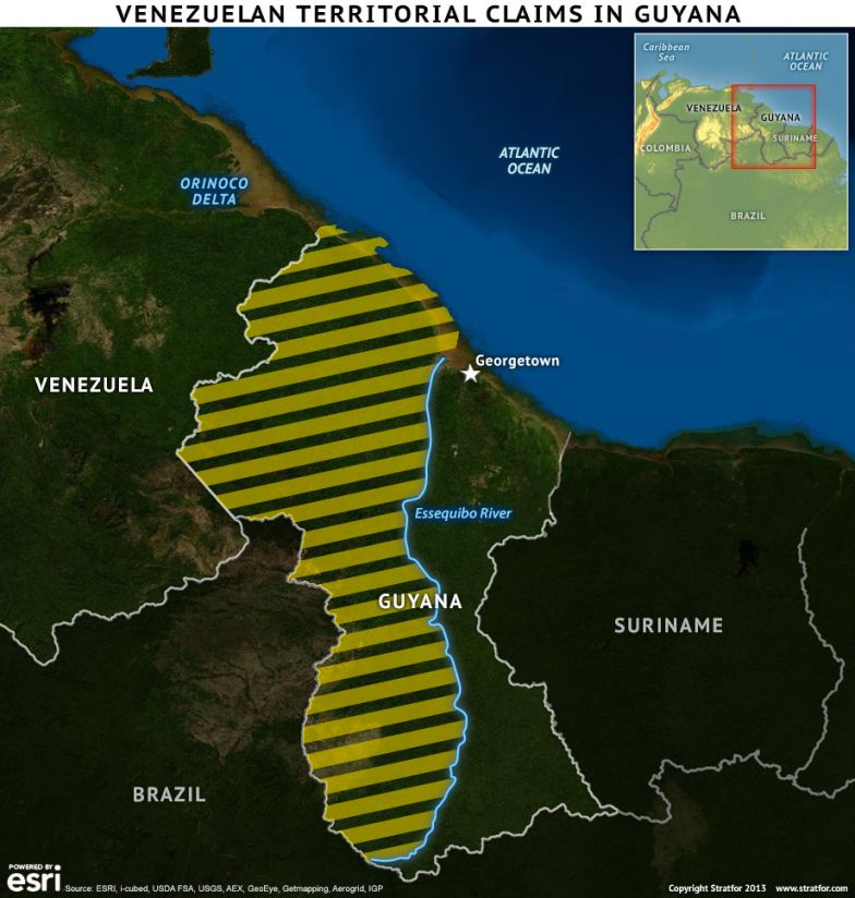 Venezuela and Guyana Land Claims