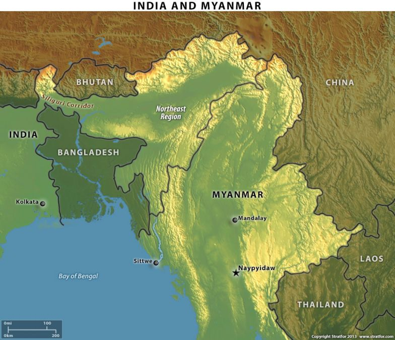 The Limits of India's Moves in Myanmar