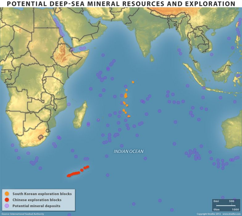Potential Deep-sea Mineral Resources and Exploration