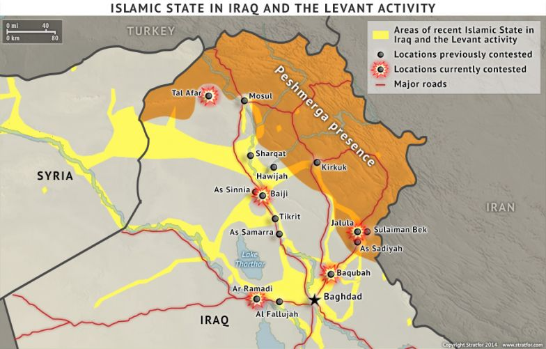 Islamic State in Iraq and the Levant Activity