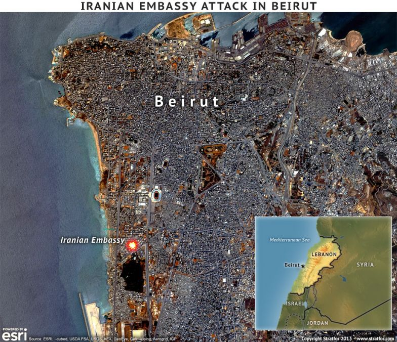 Iranian Embassy Attack in Beirut