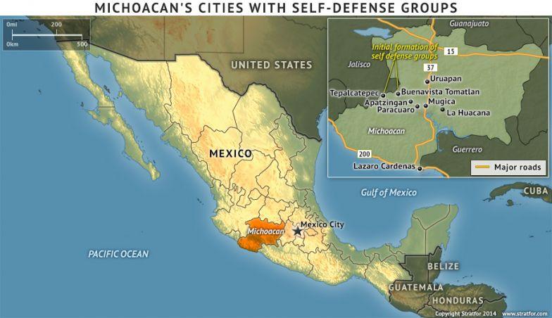 Michoacan's Self-Defense Groups