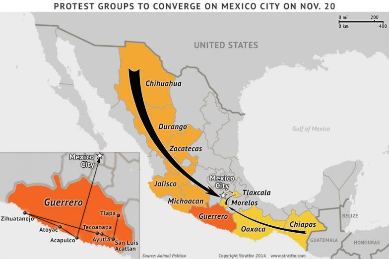 Mexico's Normalista Protest Threaten to Spread
