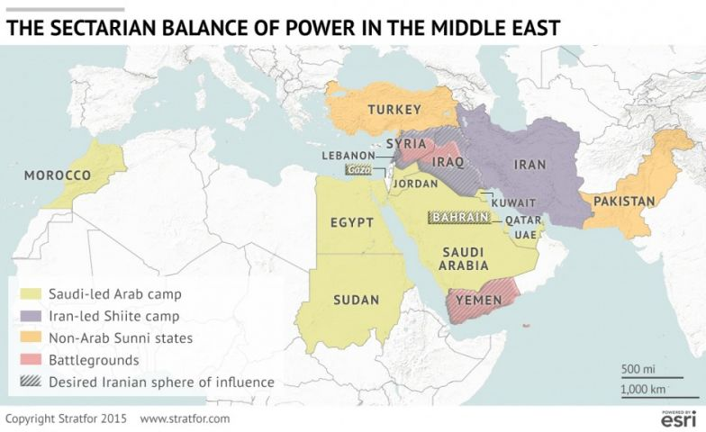 Saudi Arabia's Answer to the Iran Deal on map jordan and saudi arabia, map of bahrain and jordan, map of bahrain and surrounding countries, map of bahrain and india,