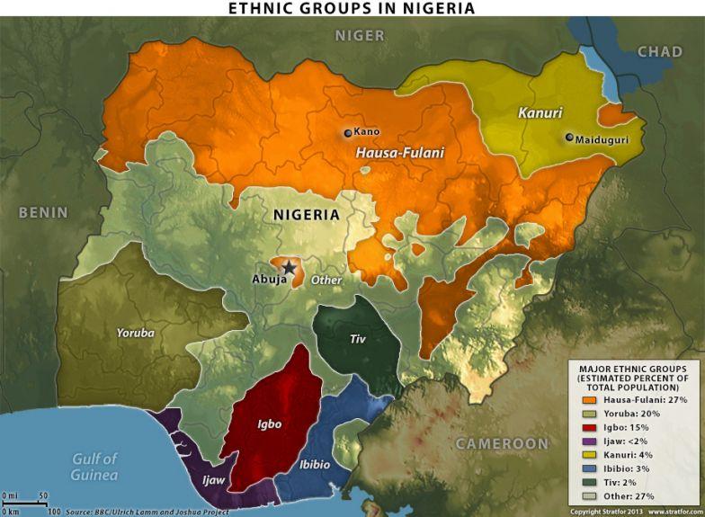 Nigeria's Ethnic Divisions