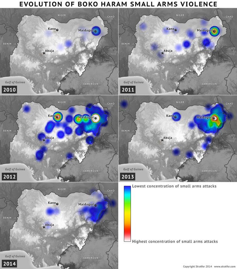 Evolution of Boko Haram Small Arms Violence