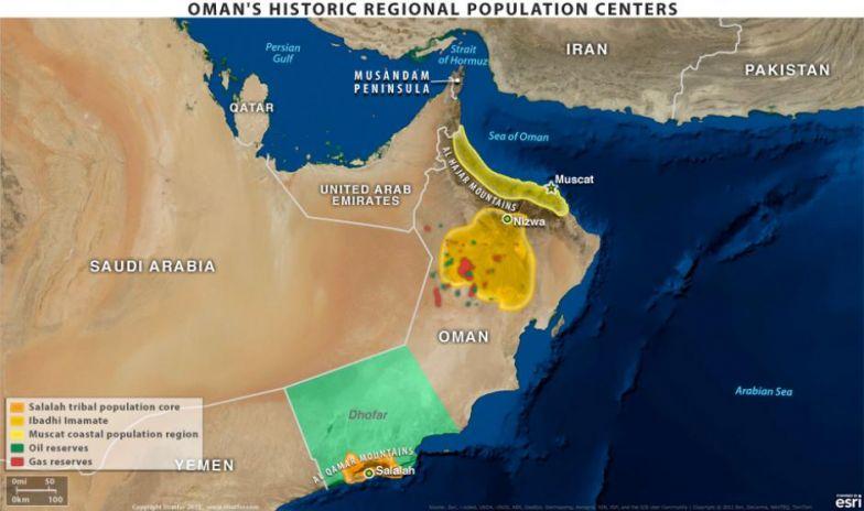 Oman's Historic Regional Population Centers