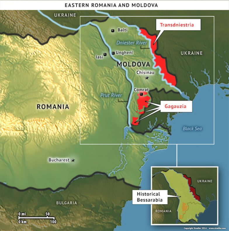 Eastern Romania and Moldova