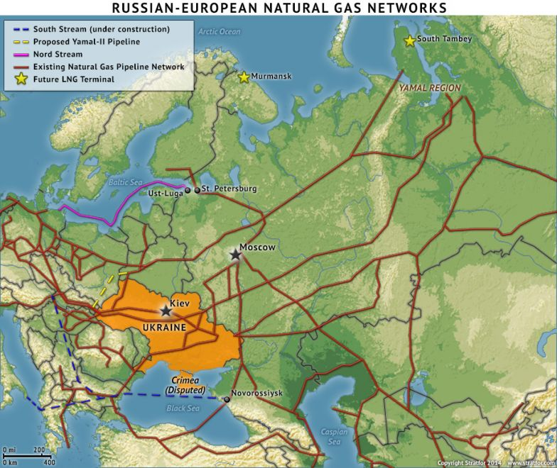 Ukraine: Russian Natural Gas Cutoff Mounts Pressure on Kiev