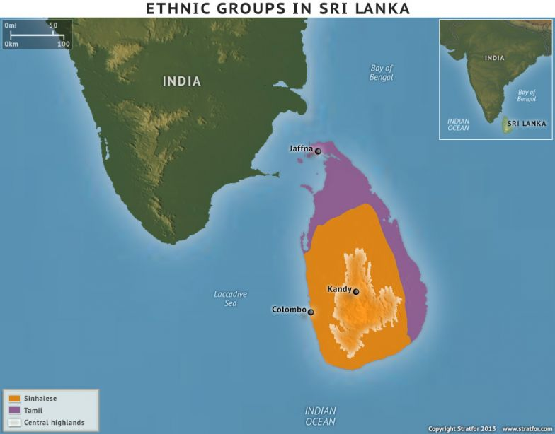 Ethnic Groups In Sri Lanka
