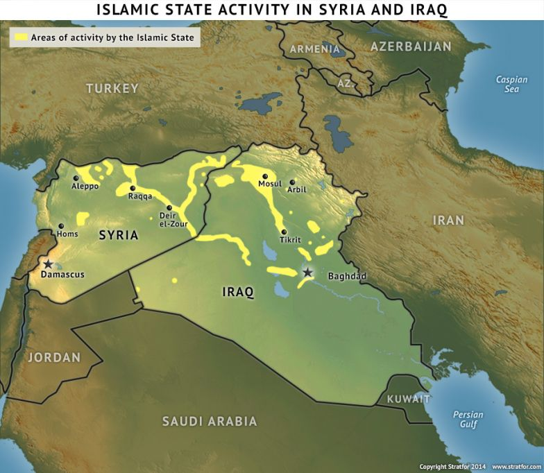 Rebel Coalitions' Strength Rivals That of the Islamic State