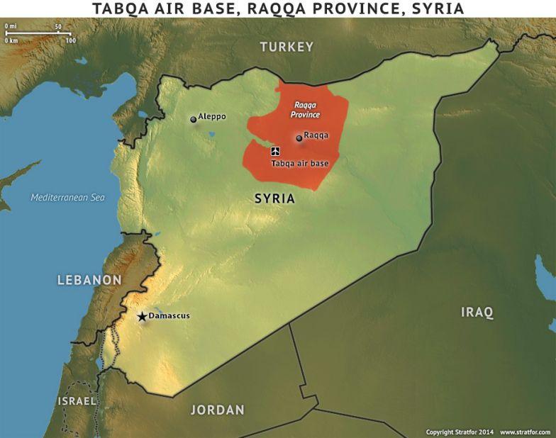 Tabqa Air Base, Raqqa Province, Syria