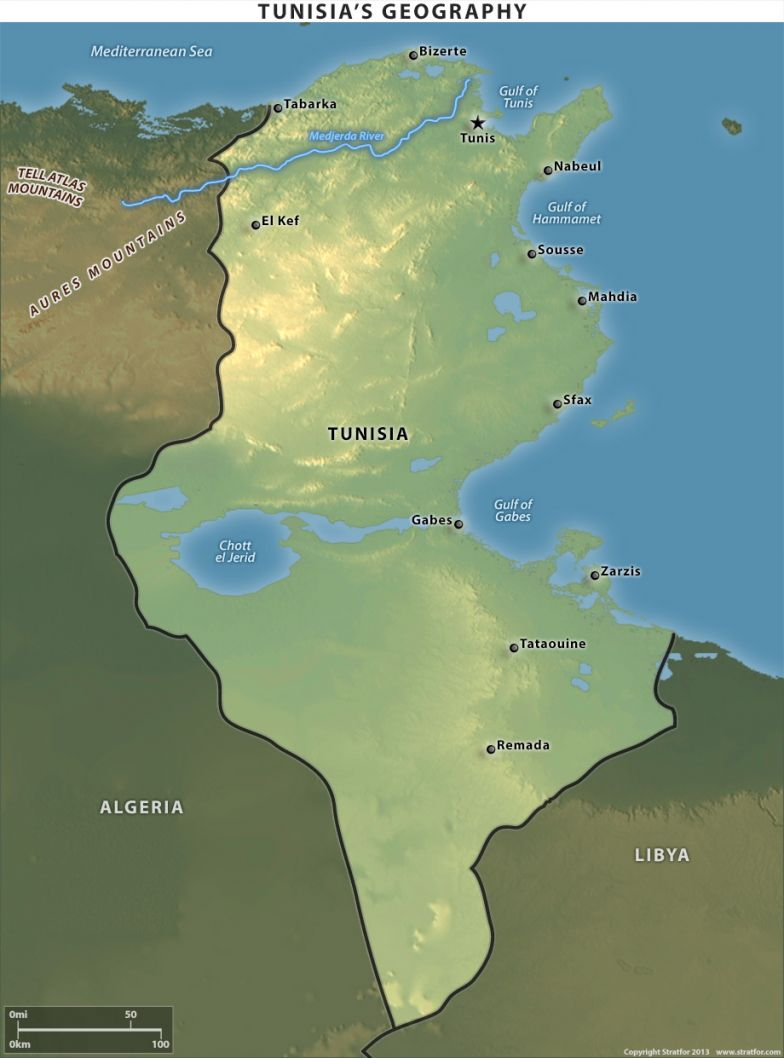 Tunisia's Geography