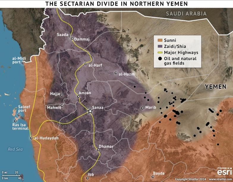 The Sectarian Divide in Northern Yemen