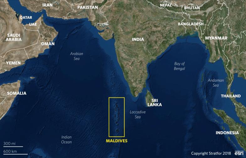 India Looks at the Maldives and Sees China