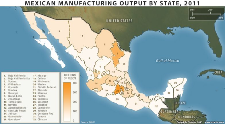 In Mexico A New Manufacturing Heartland