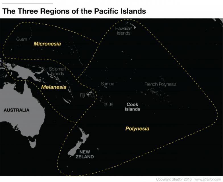 A Place Where Geopolitics Fades Stratfor Worldview - West pacific islands map 1998