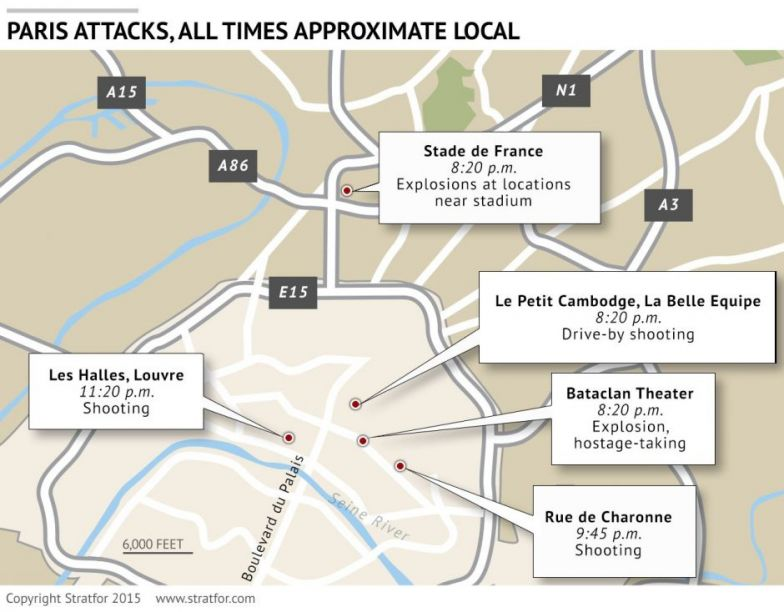 Bataclan Concert Hall Paris Map.What We Know About The Paris Attacks