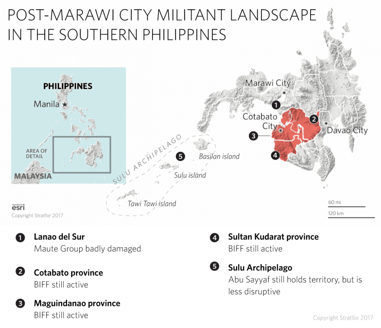 POST-MARAWI CITY MILITANT LANDSCAPE IN THE PHILIPPINES
