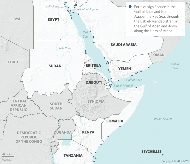 Djibouti On Africa Map.For Djibouti It S All About Location