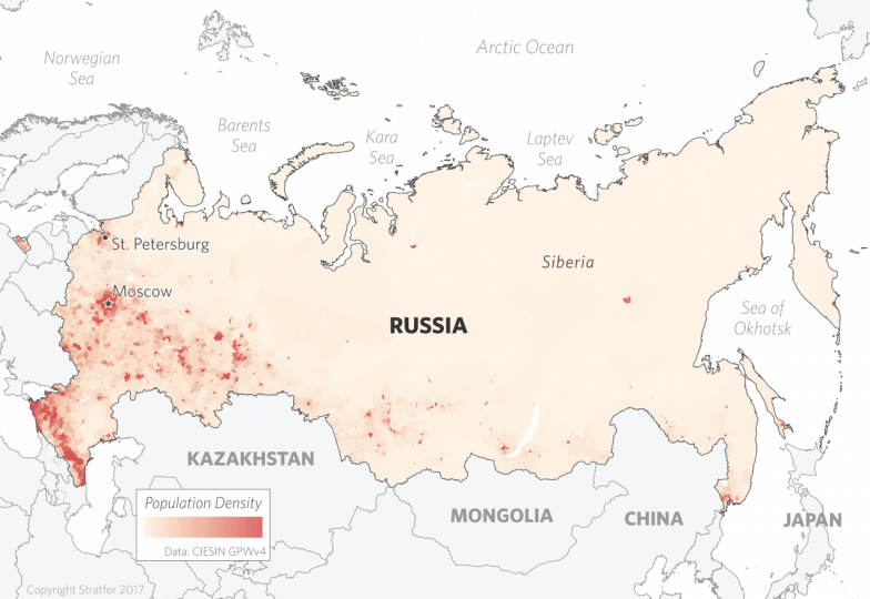 The Geopolitics of Russia Permanent Struggle