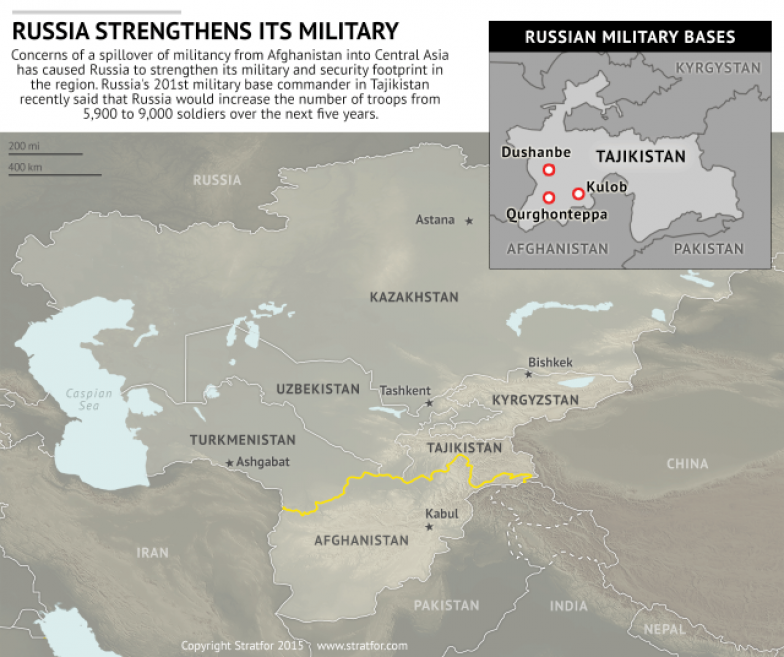it is a legitimate fear for many central asian governments as nato and the united states draw down their forces in afghanistan