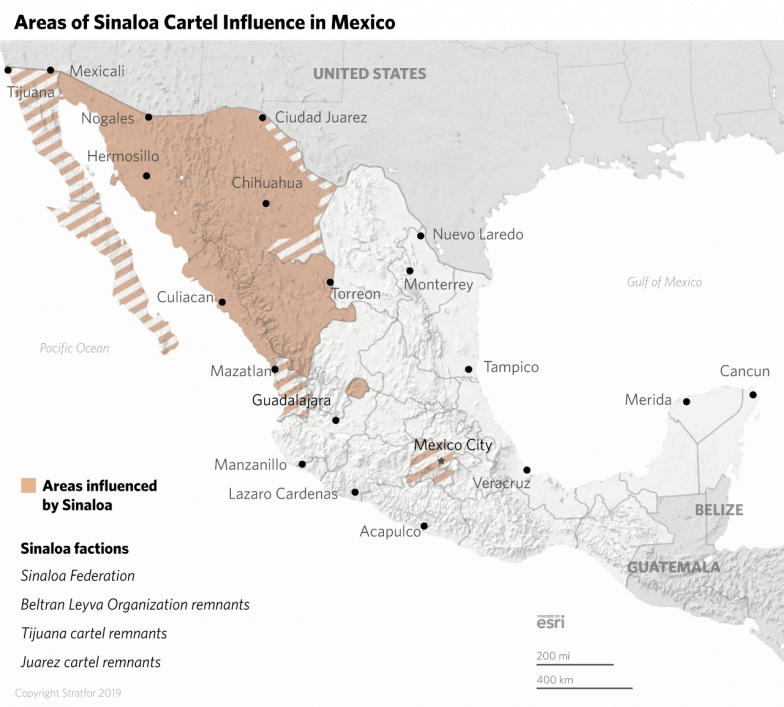 Tracking Mexico's Cartels in 2019