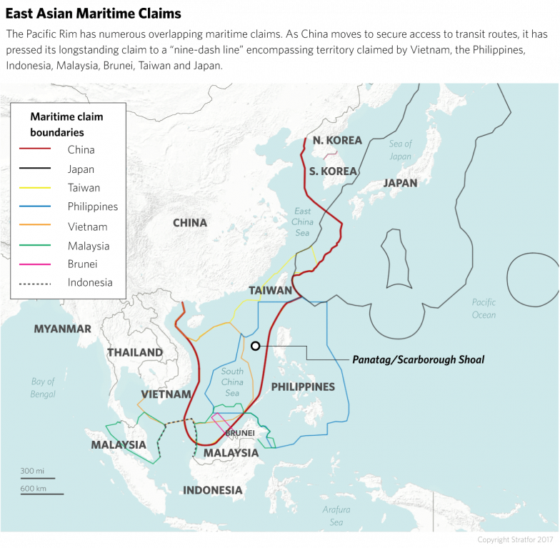Great Power Politics in the South China Sea