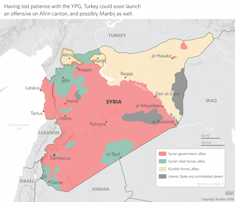 Turkey Reaches The End Of Its Rope In Syria - Where is syria and turkey