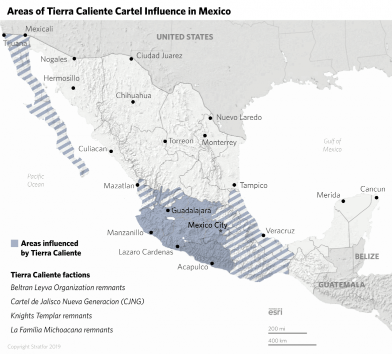 Tracking Mexico's Cartels in 2019 on