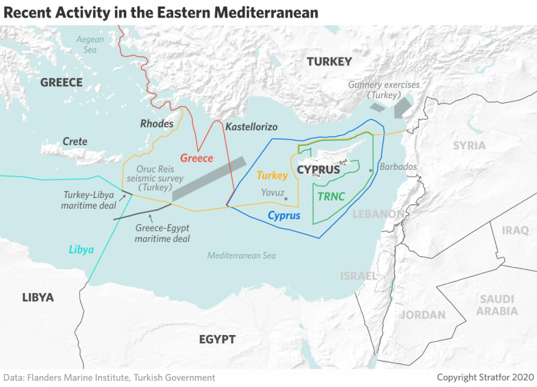 War Within NATO? Why Is Turkey Getting So Aggressive With Greece? by Stratfor Worldview 23