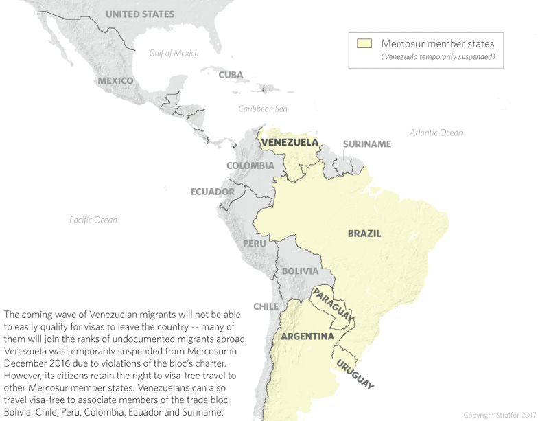 Mercosur Countries Could See A Wave Of Venezuelan Migrants