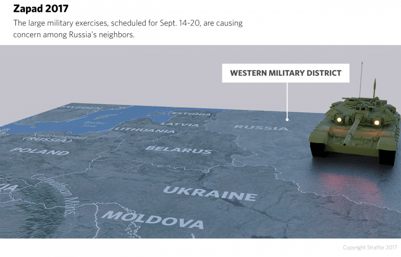 Today, tensions between Russia and the West are riding high as the next Zapad exercises, slated for Sept. 14-20, approach.